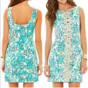 Lilly Pulitzer shift escapades in the Everglades